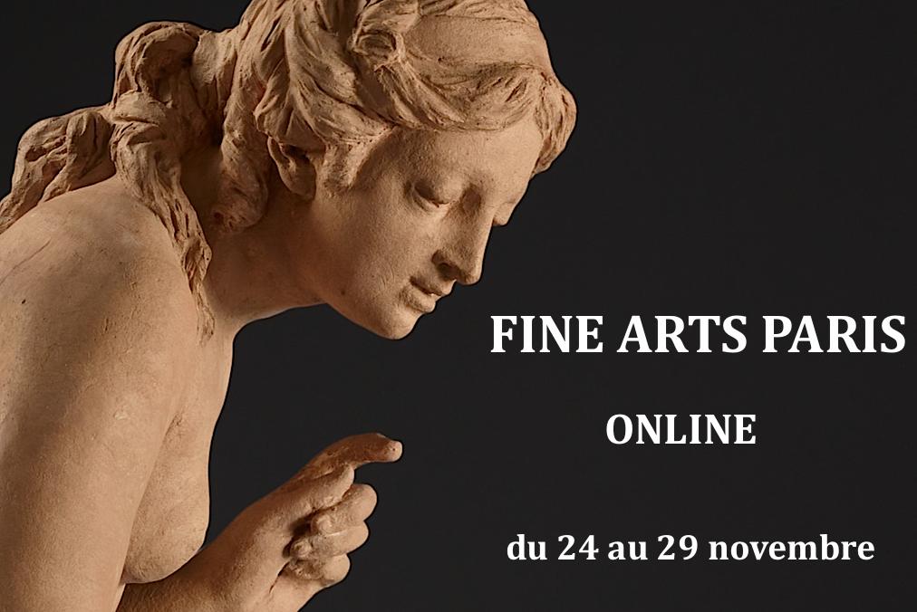 annonce du salon Paris Fine Arts Online du 24 au 29 novembre 2020